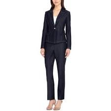 trouser suit and sandals
