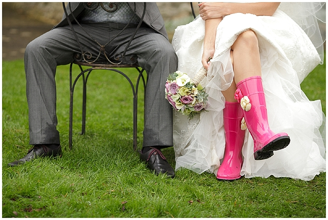 wedding wellies