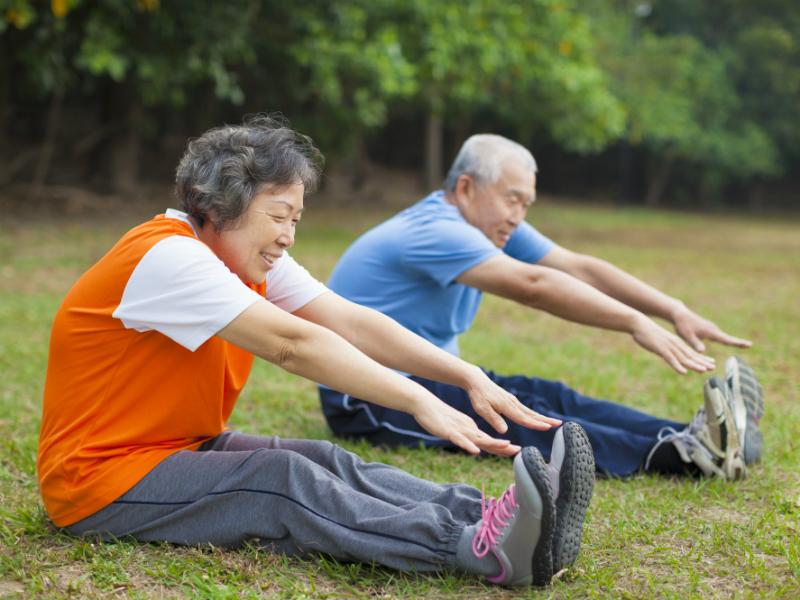 assess flexibility seniors