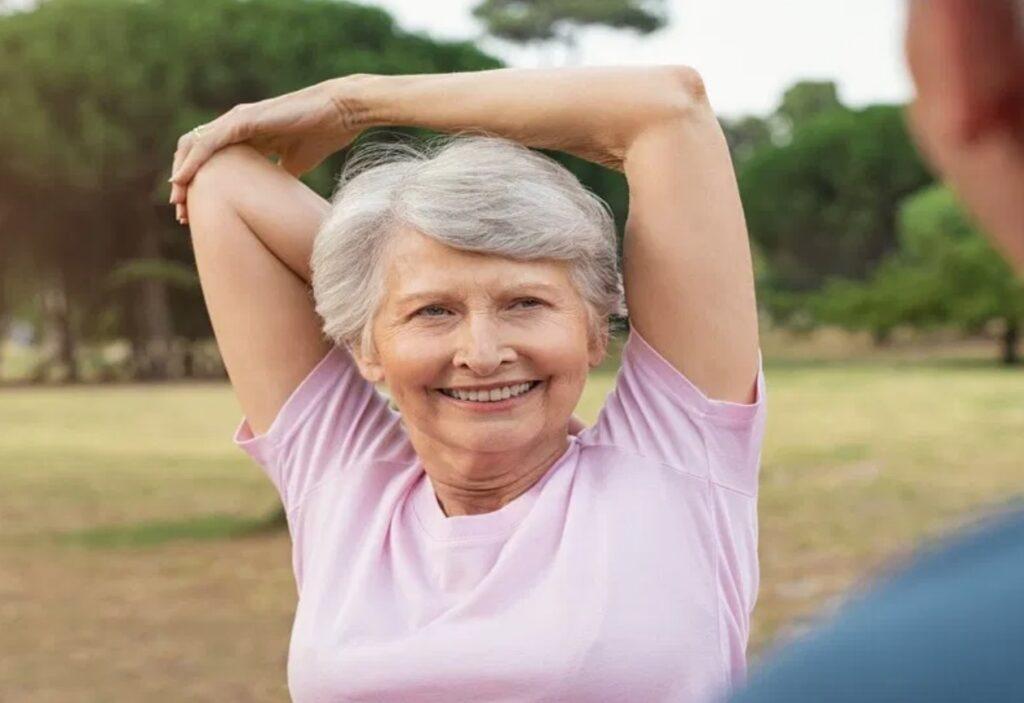 neck stretch for seniors